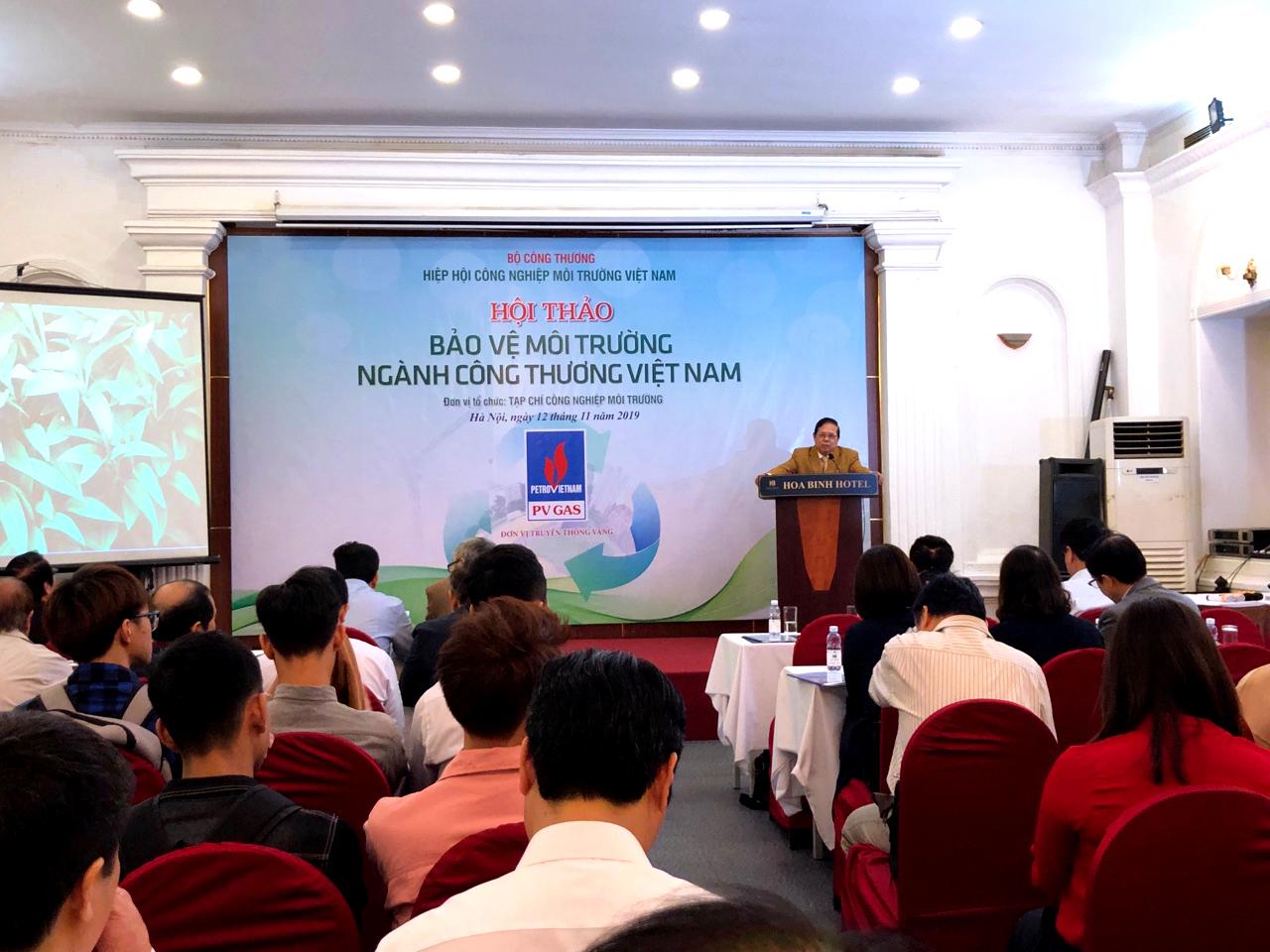 """Hội thảo """"Bảo vệ môi trường ngành Công Thương Việt Nam"""""""