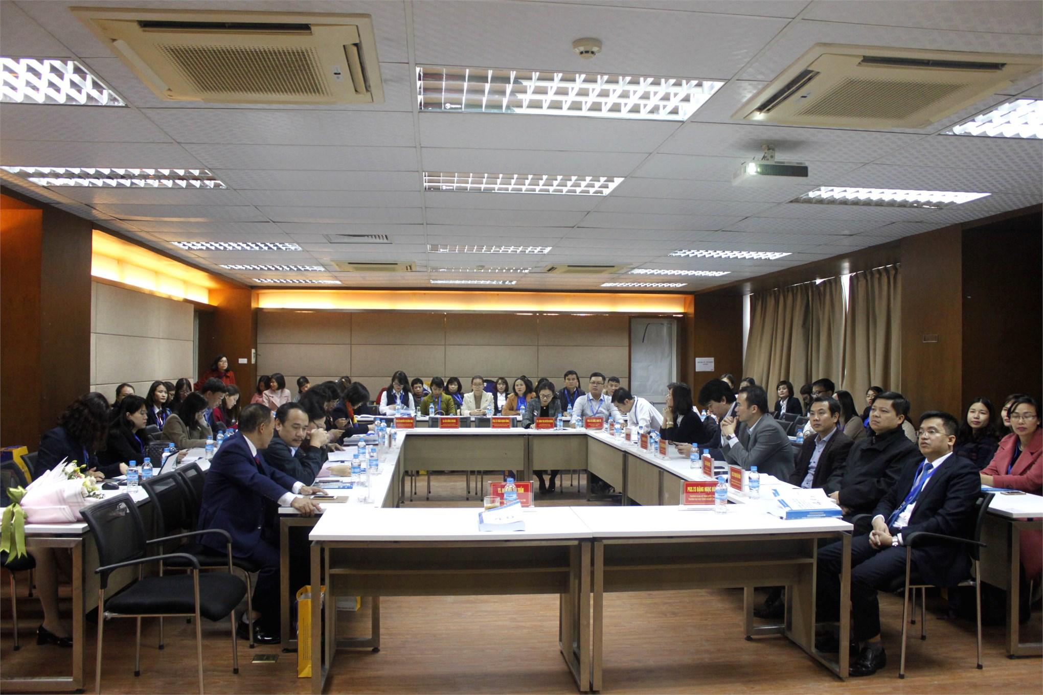 Trường Đại học Công nghiệp Hà Nội tổ chức hội thảo khoa học quốc gia về kế toán, kiểm toán