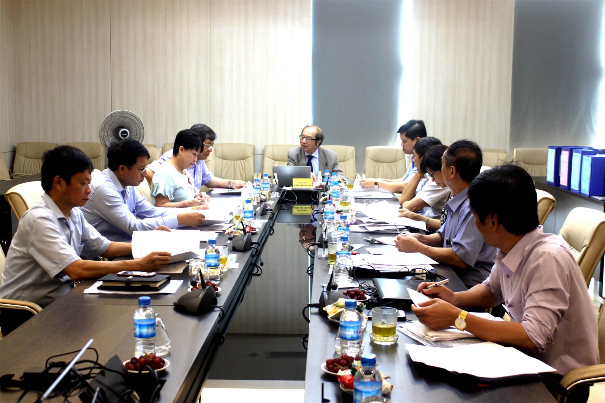 Hội đồng Giáo sư cơ sở Trường Đại học Công nghiệp Hà Nội họp xét đạt tiêu chuẩn chức danh Phó giáo sư năm 2020