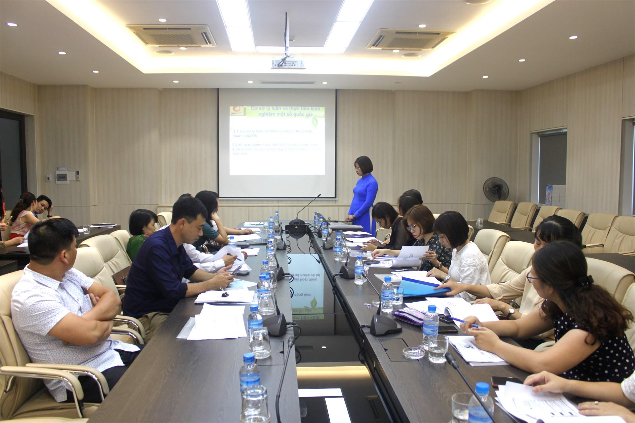Hội thảo khoa học lĩnh vực Kế toán Kiểm toán