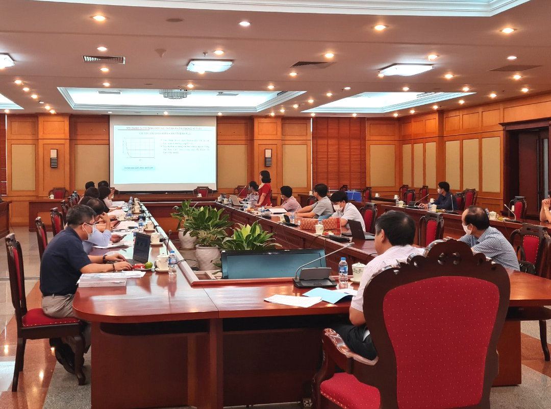 Nghiệm thu đề tài nghiên cứu khoa học cấp Quốc gia do TS. Phạm Thị Mai Hương chủ nhiệm