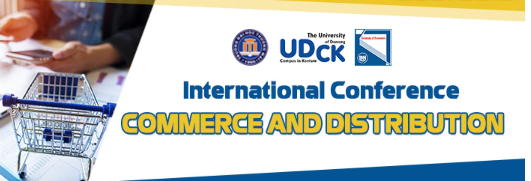 Thư mời viết bài tham dự Hội thảo khoa học quốc tế `Thương mại và phân phối` lần thứ 3 năm 2022 Commerce and Distribution (Codi 2022))