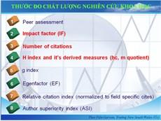 Tra cứu Tạp chí khoa học quốc tế trong danh mục ISI (SCI, SCIE, ESCI, SSCI, A&HCI) và Scopus