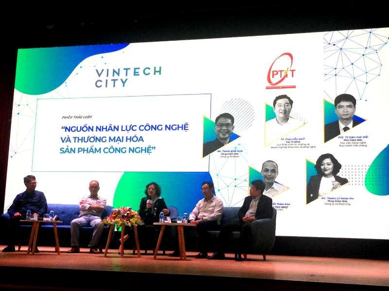 Hội thảo nguồn nhân lực công nghệ và công bố các chương trình tài trợ Nghiên cứu ứng dụng và khởi nghiệp công nghệ