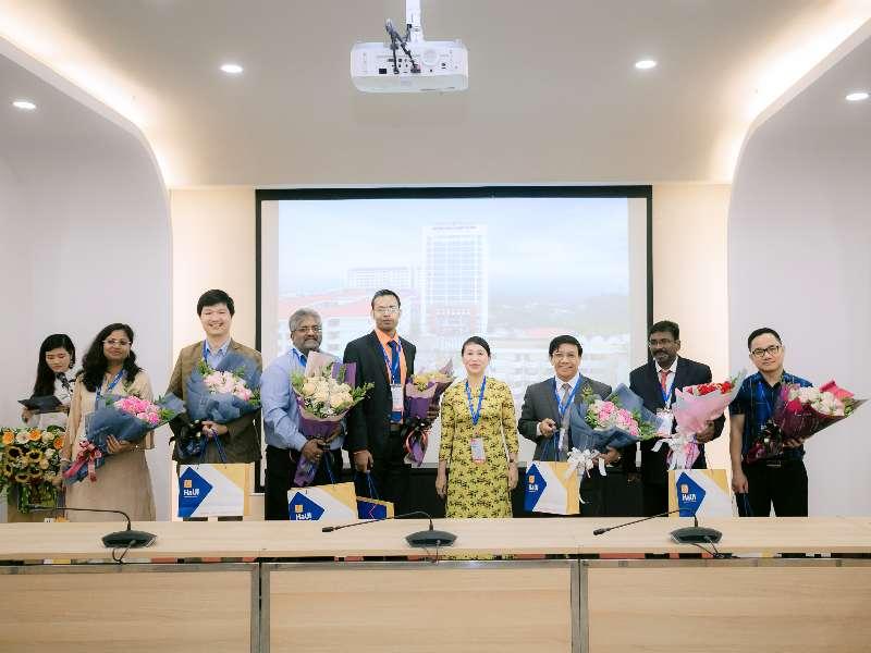 """Trường Đại học Công nghiệp Hà Nội tổ chức Hội thảo Khoa học Quốc tế """"Nghiên cứu về tính toán thông minh trong kỹ thuật"""""""