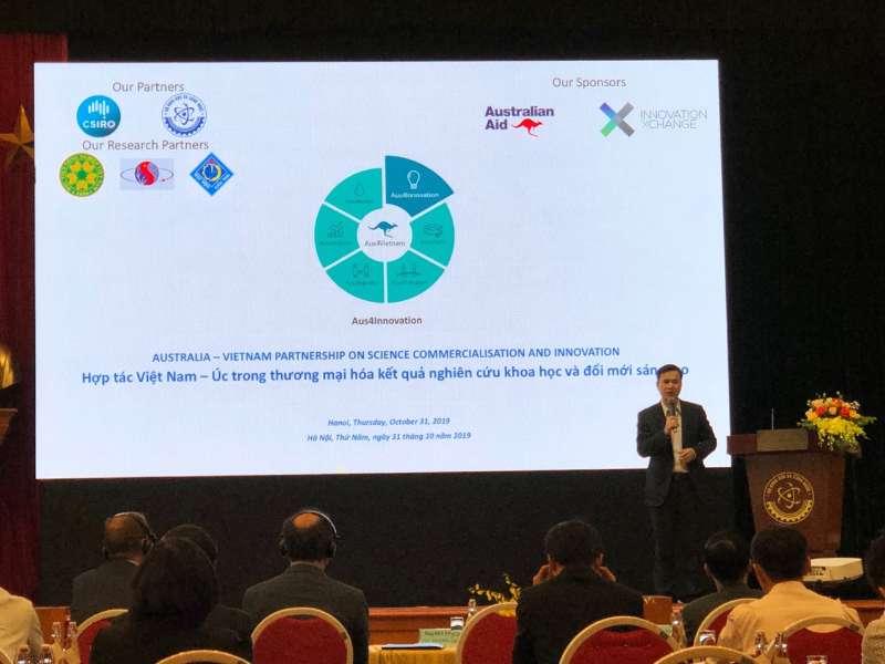 """Hội thảo """"Hợp tác Việt Nam - Úc nhằm tăng cường thương mại hóa kết quả nghiên cứu khoa học và đổi mới sáng tạo"""""""