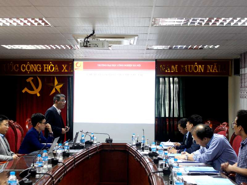Nghiệm thu cấp cơ sở đề tài nghiên cứu khoa học Bộ Công Thương do TS. Nguyễn Anh Tú chủ nhiệm
