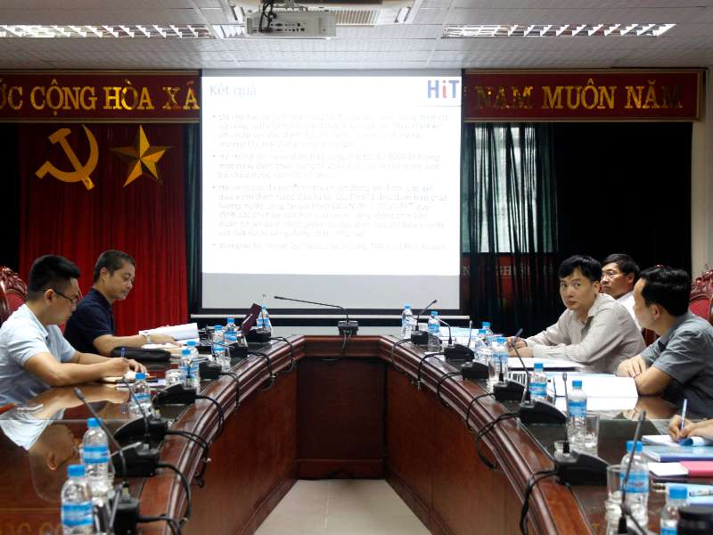 Nghiệm thu đề án KHCN cấp trường do TS. Phan Thanh Hòa chủ nhiệm