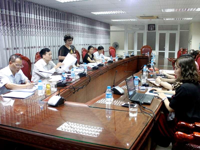 Nghiệm thu đề tài NCKH cấp trường: ''Nghiên cứu nâng cao hiệu quả tuyên truyền phổ biến giáo dục pháp luật cho sinh viên trường Đại học Công nghiệp Hà Nội''