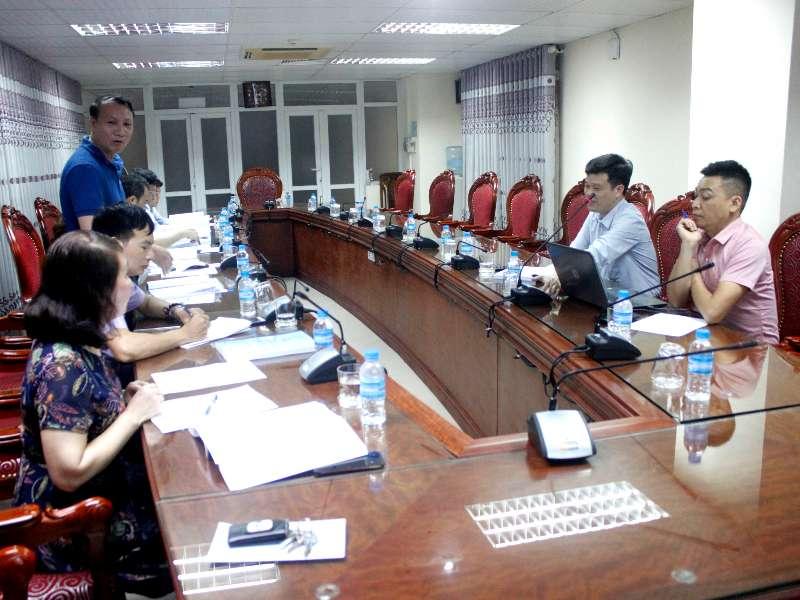 Nghiệm thu đề án KHCN cấp trường: ''Đánh giá năng lực giảng viên Trường Đại học Công nghiệp Hà Nội theo chuẩn nghề nghiệp''
