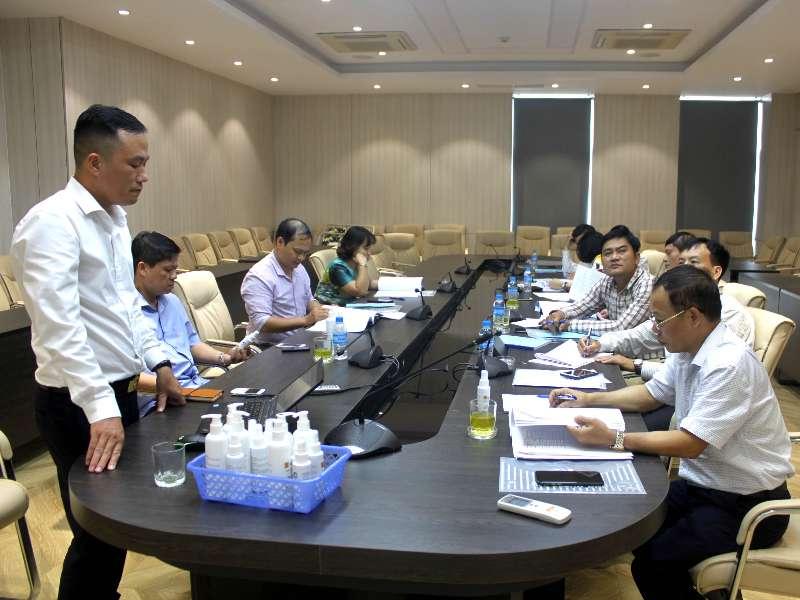 Nghiệm thu đề án KHCN cấp trường do PGS.TS. Phạm Văn Đông chủ nhiệm
