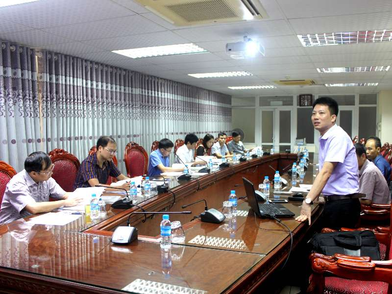 Nghiệm thu đề tài nghiên cứu khoa học cấp trường ''Nghiên cứu, thiết kế, chế tạo động cơ một chiều không chổi than công suất 1,2 kW dùng cho xe đạp điện trong điều kiện sản xuất tại Việt Nam''