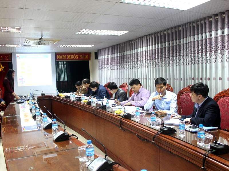 Nghiệm thu cấp cơ sở đề tài nghiên cứu khoa học Bộ Công Thương do TS. Nguyễn Thị Diệu Linh chủ nhiệm