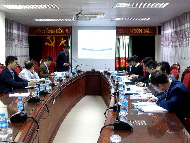 Nghiệm thu cấp cơ sở đề tài nghiên cứu khoa học Bộ Công Thương do TS. Nguyễn Văn Thiện chủ nhiệm