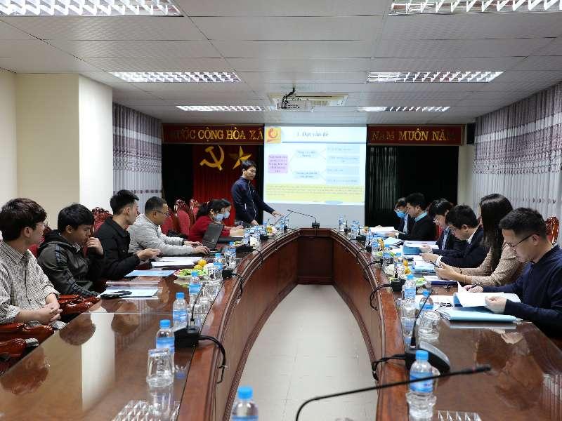 Nghiệm thu đề án KHCN cấp trường do PGS.TS. Phạm Thị Minh Huệ chủ nhiệm