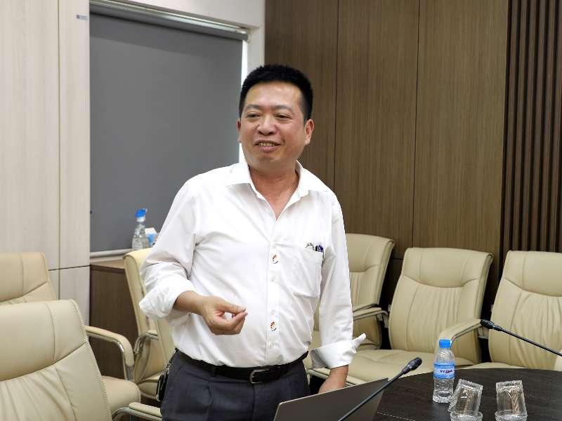 Nghiệm thu đề tài NCKH cấp Trường do PGS.TS. Nguyễn Quang Tùng chủ nhiệm